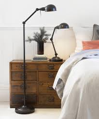 Sturdy Floor Lamp Adjustable Floor Lamp In Bronze