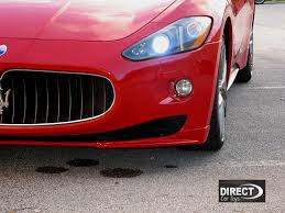 maserati granturismo 2016 red 2007 2012 maserati granturismo mc sport line style 2pc front lip