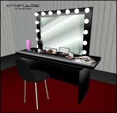 black vanity set with lights the best 100 black vanity set with lights image collections