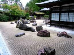 japanese rock garden karesansui also known as the garden of