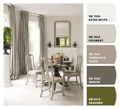 gray and green dining paint colors by sherwin williams sw