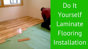 do it yourself laminate flooring installation