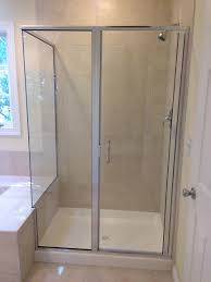 Frame Shower Doors by Custom Glass Shower Doors Enclosures Gallery Montgomery Co Md