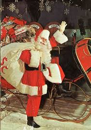 charles howard is decked out as santa claus in this photo howard