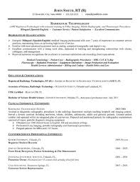 Surgical Tech Resume Sample by X Ray Technician Cover Letter
