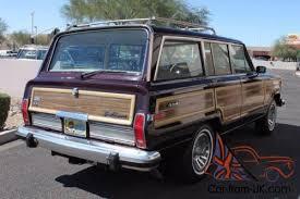 1989 jeep wagoneer limited jeep grand wagoneer limited 4x4