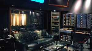 control room front gang recording studio