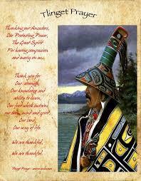 american tlinget prayer for thanksgiving tlingit