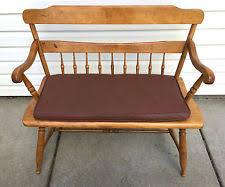 Antique Windsor Bench Deacons Bench Ebay