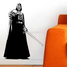 Decoration Star Wall Decals Home by Ome Decor Wall Sticker Darth Vader Silhouette Star Wars Wall Art