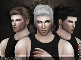 sims 3 men custom content the sims resource stealthic haunting male hair sims 4
