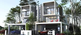 3 Storey Townhouse Floor Plans by Casablanca Residence Off Jalan Kolombong