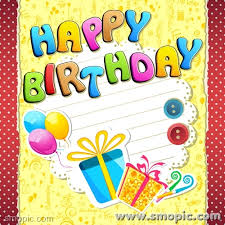 free cartoon happy birthday font greeting cards greeting card