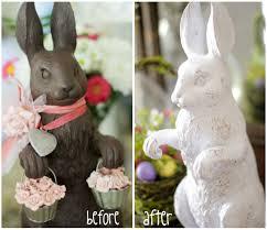 white chocolate bunny white chocolate bunny scissors spatulas