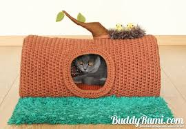Cat Bed Pattern Pattern Pet Crochet Bed Cat Cave T Shirt Yarn A House In The