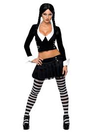 happy halloween party city wednesday addams costume halloween costumes pinterest