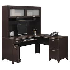 Bush Desks With Hutch Bush Furniture Tuxedo L Shape Executive Desk With Hutch Office