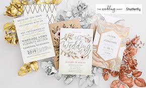 wedding invitations shutterfly custom wedding invitations the wedding shop by shutterfly groupon