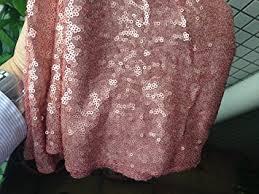 shinybeauty 24 inch blush sequin tree skirt