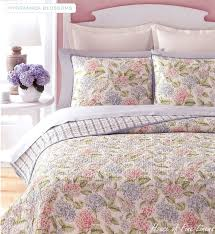 Martha Stewart Duvet Covers Martha Stewart Collection Hydrangea Blossoms Full Queen Quilt