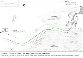 hong kong zhuhai macao bridge hong kong link road u2013 section
