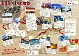 Usa Travel Map by Graphic Design Of Flyers Leaflets Brochures For Travel Agencies