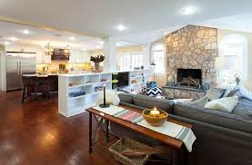 open floor plan interior design open floor plan organized with shleving units on