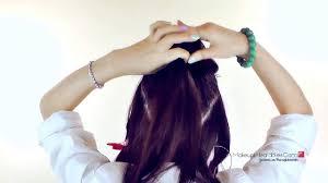 tutorial rambut wanita tutorial model rambut menata rambut panjang ala wanita korea untuk