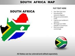 country powerpoint maps south africa powerpoint templates