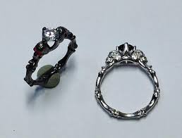 engagement rings skull skull engagement ring ring dainty skull ring stacking