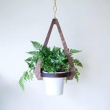modern hanging planters modern hanging planter mid century planters australia indoor