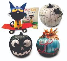 pete the cat halloween scare up some new ideas for pumpkins times union