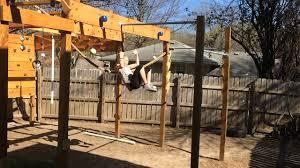 Backyard Ninja Warrior Course Homemade Ninja Warrior Course Youtube