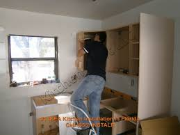 Ikea Kitchen Cabinet Installation Cost by Putting Together Ikea Kitchen Cabinets Voluptuo Us