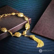 necklace pattern collection images Songket collection sunaka jewelry jpg