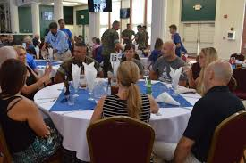 family day dinner with depot command traditions mcrd parris
