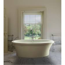 freestanding soaking tub with virtual spout