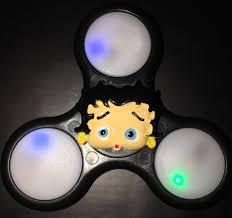Betty Boop Bathroom Accessories Uk by Fidget Spinner Betty Boop Custom Led Light Up Fidget Hand