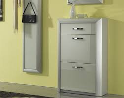 shoe cabinet with drawer modern 2 door shoe cabinet in choice of finish with drawer