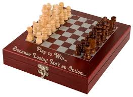 Ancient Chess Set Custom Personalized Engraved Chess Set