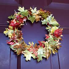 upcycled aluminum can fall wreath diy