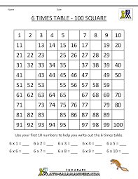 six times tables worksheet free worksheets library download and