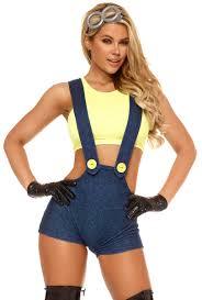 minion costume forplay 556422 womens minion costume set upscalestripper