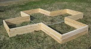 Cedar Raised Garden Bed Garden Greenes Fence Raised Garden Bed Regarding Greatest