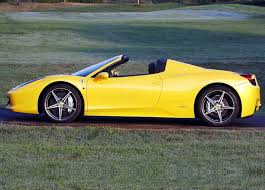 ferrari spider ferrari 458 spider side view car pictures images u2013 gaddidekho com