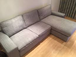 Kivik Sofa Ikea by Ikea Kivik Sofa 8 Month Old In Isunda Grey Like Brand New In