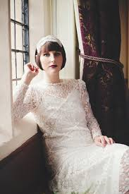 vintage art deco wedding dress deco bridal wear vintage style