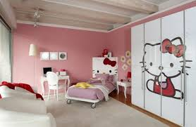Modern Kids Bedroom Ceiling Designs Modern Kids Bedroom Design With Hello Kitty 314 Gallery Photo 2