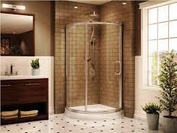 Shower Curtain For Stand Up Shower Bathroom Exciting Home Depot Corner Shower For Your Bathroom