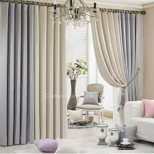 Beige And Gray Curtains Beige And Gray Curtains Grey And Beige Eco Friendly Thick Cheap